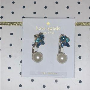 Kate Spade Cluster Ear Jacket Earrings